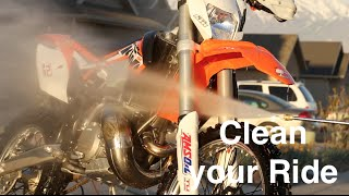 Keeping Your Ride Clean