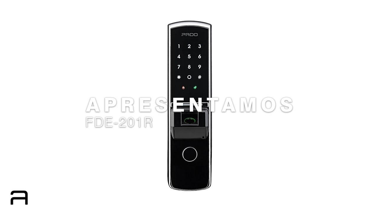 Fechadura Digital com Rolete FDE-201R - A sua fechadura para porta pivotante