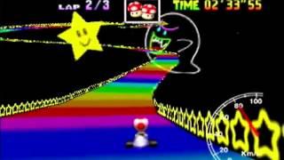 "Rainbow Road 3lap 5'53""87 (PAL)"