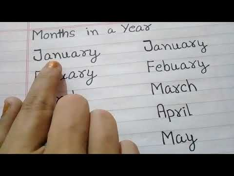 JANUARY FEBRUARY MARCH APRIL MAY JUNE JULY AUGUST SEPTEMBER OCTOBER NOVEMBER DECEMBER.  VIDEO FOR KI