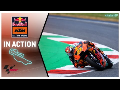 KTM in action: Gran Premio d'Italia Oakley