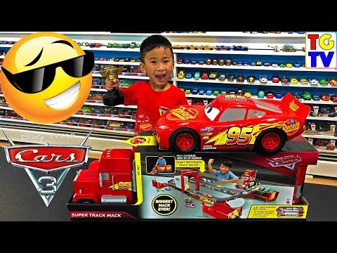 Disney Pixar Cars 3 Super Track Mack Review