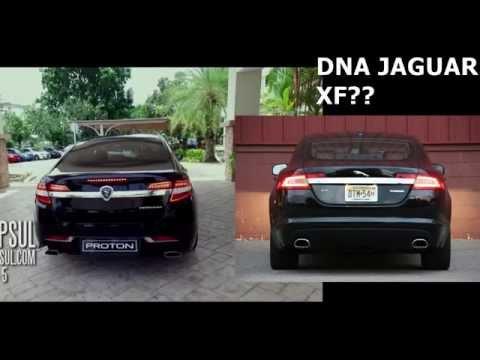 Proton Perdana 2016 revealed .. Jaguar DNA?