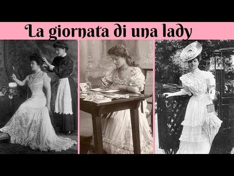 LA GIORNATA DI UNA LADY VITTORIANA - PAZZA EPOCA VITTORIANA