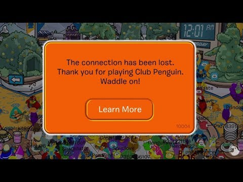 Club Penguin Final Moments