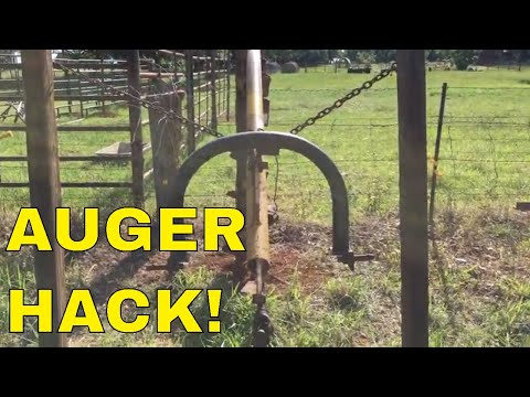 💥THIS IS A GAME CHANGER ✅ PTO Auger Stand Hack👍