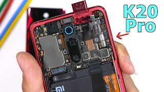 Xiaomi Redmi K20 Pro Teardown - Value Champion is Clear
