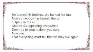 Charlotte Gainsbourg - Set Yourself on Fire Lyrics