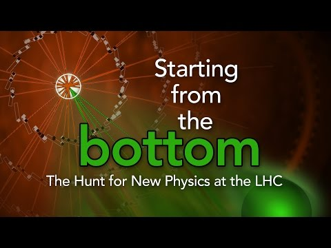 Public Lecture   Starting From the Bottom: The Hunt for New Physics at the LHC