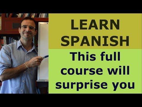 LEARN SPANISH Free Spanish course - YouTube