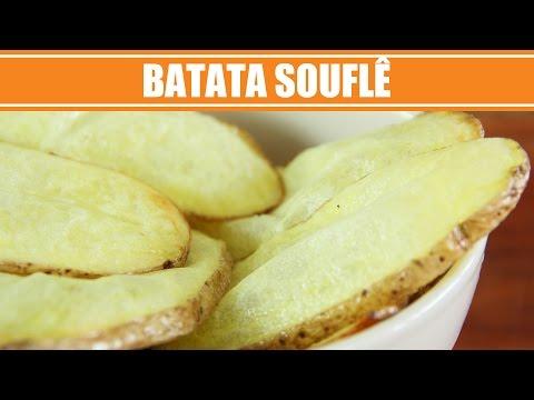 Receita de Batata Souflê