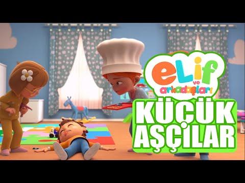 Elif ve Arkadaşları  -  Bölüm 9 - Küçük Aşçılar  -  TRT Çocuk Çizgi Film
