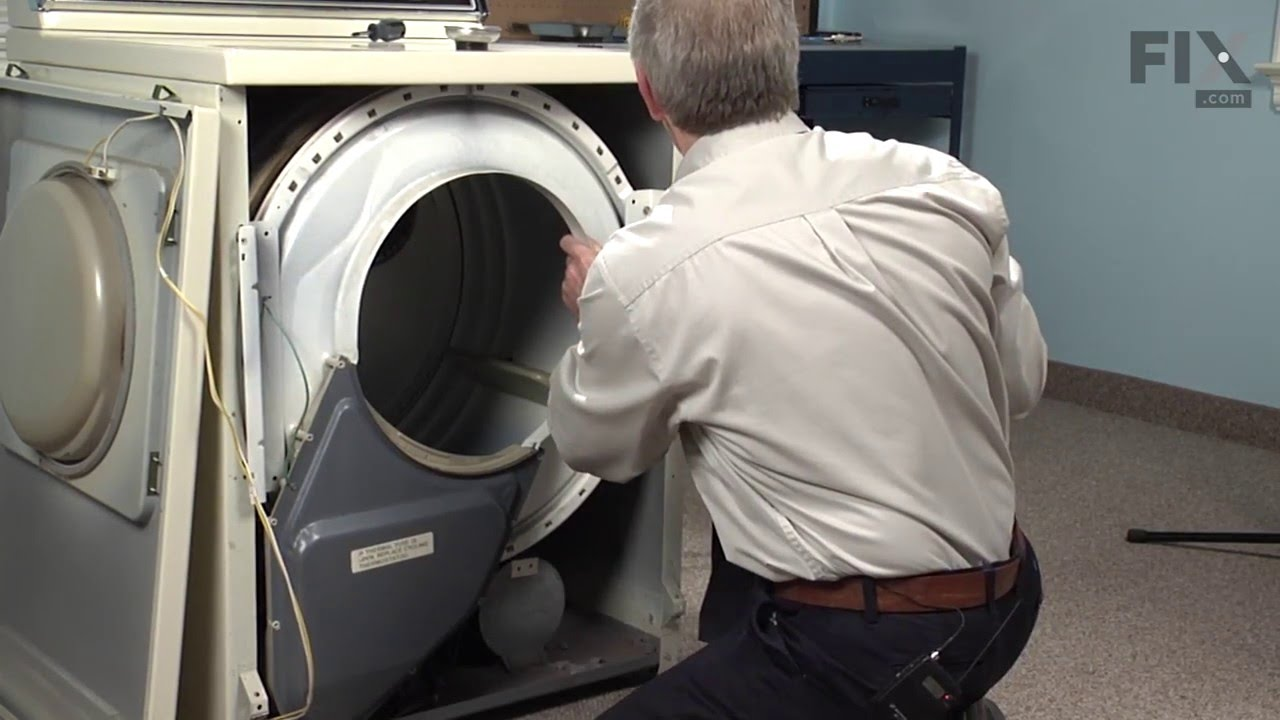 Replacing your Maytag Dryer Front Glide Kit