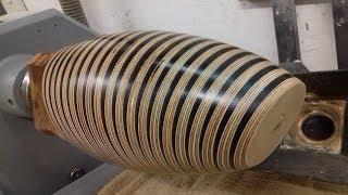 Woodturning - The Armadillo
