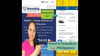 REMITLY  My No.1 Trusted International Money Transfers/USA to Philippines!😀