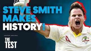 Steve Smith Makes Ashes Test History with BACK-TO-BACK 100s!