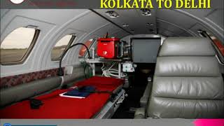 Take Amazing Healthcare Air Ambulance from Mumbai to Delhi by Medivic
