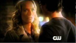 "Нина Добрев и Йен Сомерхолдер, The Vampire Diaries - 2.12 - ""The Descent"" CW Extended Promo"