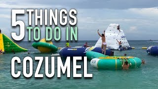 5 Things To Do In Cozumel