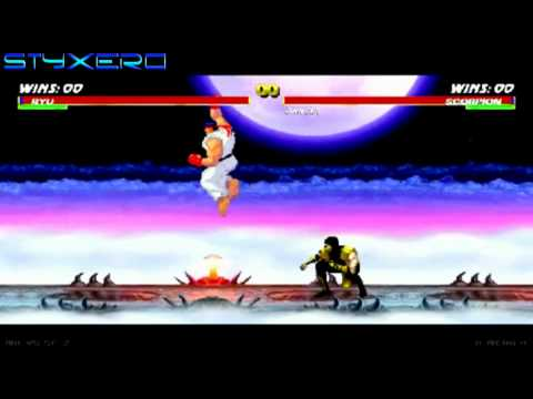 Mortal Kombat vs Street Fighter 2 [1080p HD]