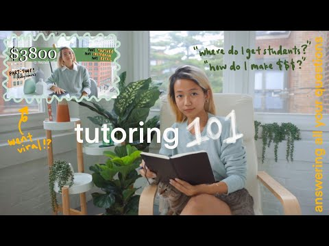 how i make $3-4K/mo tutoring📚: answering ur questions + watch me teach!!