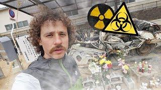 Entré a la zona prohibida nuclear de Fukushima...