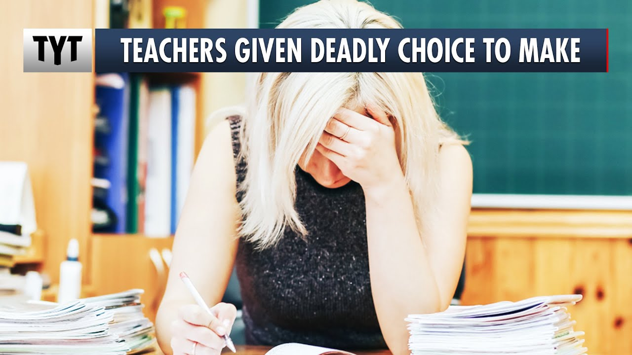 Teachers Given Deadly Choice To Make thumbnail