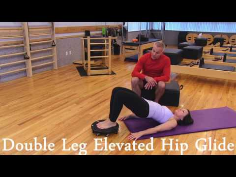 Double Leg Elevated Hip Glide