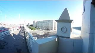Андреевский мост. Москва. 360 градусов. AllVideo