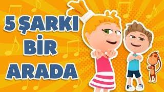 Kukuli – Eğlenceli Çocuk Şarkıları & Çizgi Filmler  5 Şarkı Bir Arada