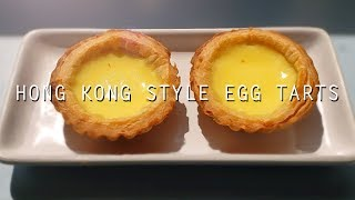 Simple Egg Tarts (Easy Recipe) ~Hong Kong Style~