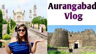 Aurangabad Travel Vlog| Grishneshwar Jyotirlinga|Daulatabad Fort|Bibi Ka Makbara|Ajanta Ellora Day 3