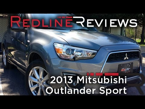 2013 Mitsubishi Outlander Sport – Redline: Review