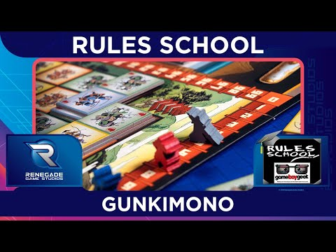 Learn How to Play Gunkimono (Rules School) with the Game Boy Geek