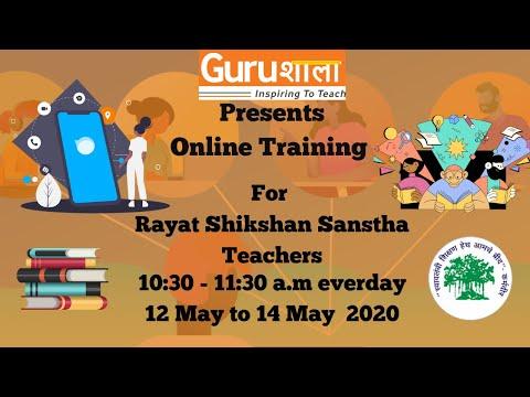 Gurushala Online Teacher Training Day 1 (12 May 2020) - YouTube