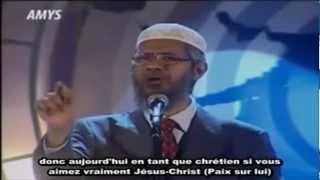 Dr Zakir Naik - Qui est vraiment Jésus ? - VOSTFR - HD