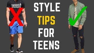How to Dress Well If You're a Young Guy (Without Feeling Awkward)