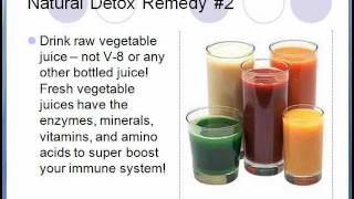5 Detox Remedies for Cancer