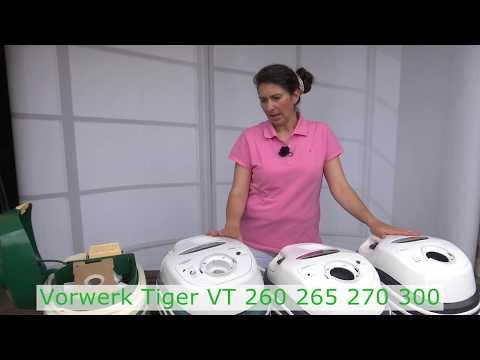 Vorwerk Tiger VT 260 265 270 300 - Die Unterschiede