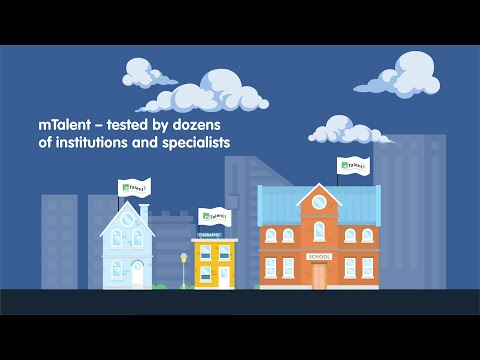 mTalent: revolutional software for Special Needs in Education & Development