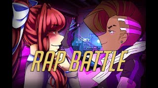 【RAP BATTLE】 Monika vs Sombra (feat. Miss Shellah & Elsie Lovelock)