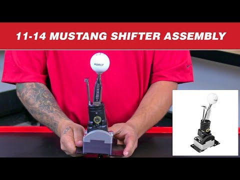 2011-14 Ford Mustangs - How to Assemble a Hurst Competition/Plus Shifter