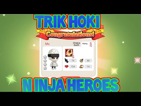 Video Trik HOKI Ninja Heroes 99,99% EPIC!!
