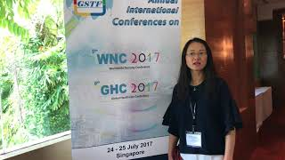 Dr. Zhanming Liang at GHC Conference 2017 by GSTF Singapore