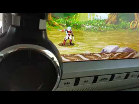 """MVpower 9"""" 2 x Kopfstützen Monitore fürs Auto mit DVD Player von Sony"""