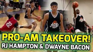 Orlando Magic's RJ Hampton & Dwayne Bacon DOMINATE Ace Orlando Pro-Am! RJ Sends Game To OVERTIME! 🤯