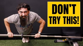 The DUMBEST Pushup You'll Ever See!!