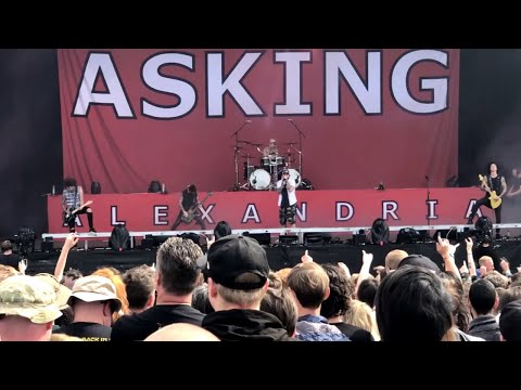 Asking Alexandria - Download Festival (Donington) 2018 - Zippo Encore Stage - Sat 9th June 2018