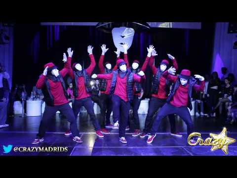 JABBAWOCKEEZ Tribute @ Crazy Madrid 15 Enero 2014