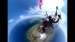 VR動画で疑似体験-沖縄-パラグライダー体験の動画